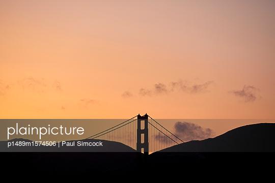 Golden Gate Bridge - p1489m1574506 by Paul Simcock