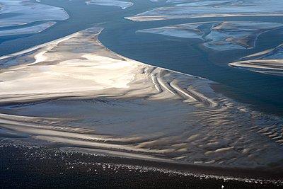 Wattenmeer in der Nordsee - p1258m1115362 von Peter Hamel