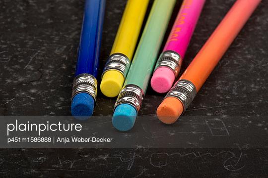 Fünft Blesitifte - p451m1586888 von Anja Weber-Decker