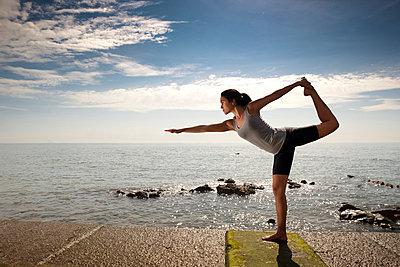Yoga - p6691695 by Julian Winslow