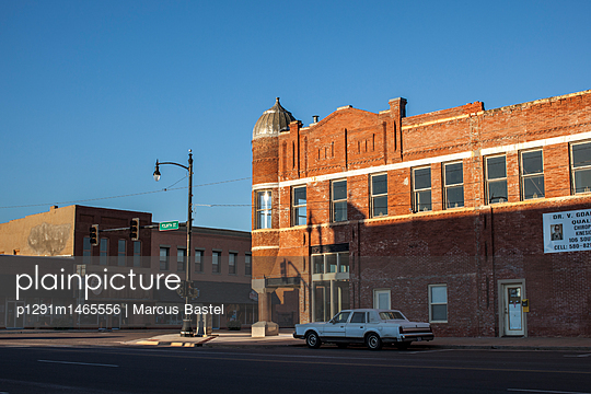 Small town - p1291m1465556 by Marcus Bastel