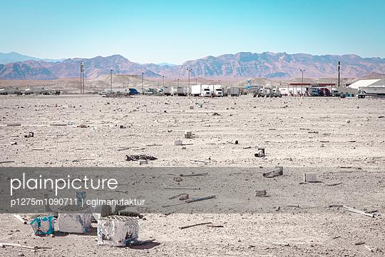 Valley of Fire, Moapa, Nevada - p1275m1090711 von cgimanufaktur