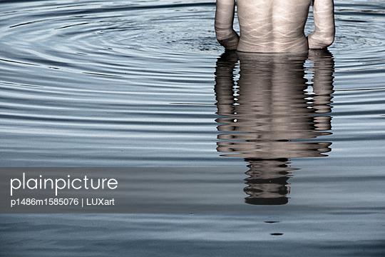 Im Wasser - p1486m1585076 von LUXart