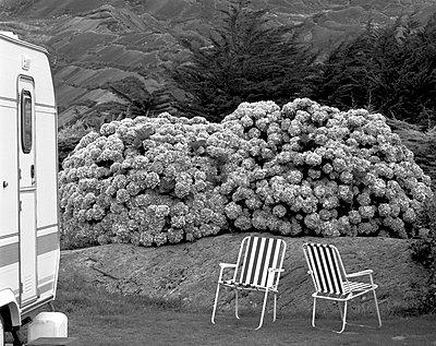 Campingidyll; Glengarriff - p1016m815722 von Jochen Knobloch