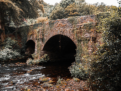 Ireland, Old bridge - p1681m2263297 by Juan Alfonso Solis