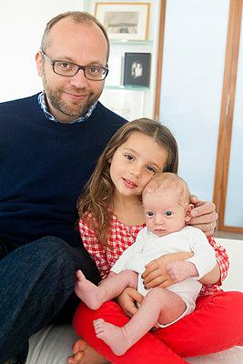 Familienportrait - p756m891571 von Bénédicte Lassalle