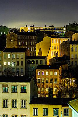 Lyon bei Nacht - p910m1467724 von Philippe Lesprit