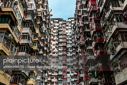 Hong Kong, Quarry Bay, apartment blocks - p300m2069703 by Daniel Waschnig Photography