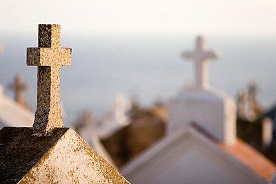 Cemetary, Corsica - p3431077 by Gabe Rogel