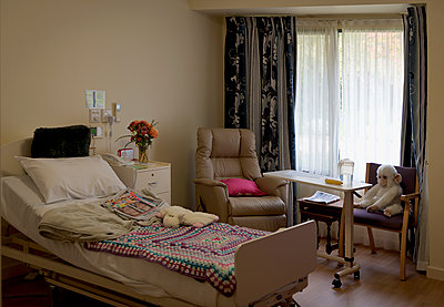 Bedroom, aged care home - p1125m2013976 by jonlove