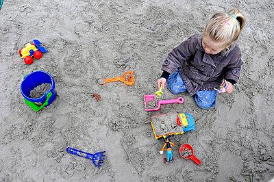 Sandkasten - p896m835753 von Hollandse Hoogte