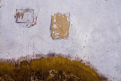 Painting-like walls lining the old hutong streets of Beijing, China, Asia - p934m893074 by Raphael Olivier