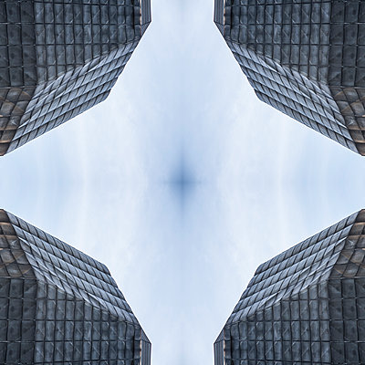 Abstract Architecture Kaleidoscope Prague - p401m2216018 by Frank Baquet