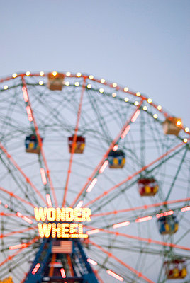 Ferris Wheel, Coney Island, New York City - p5690042 by Jeff Spielman