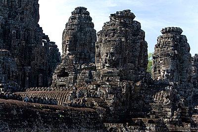 Bayon temple, Angkor, Cambodia - p4428416f by Design Pics