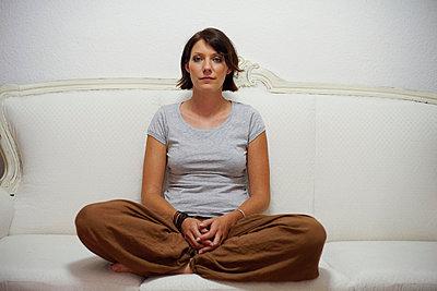 Junge Frau - p5560126 von Wehner