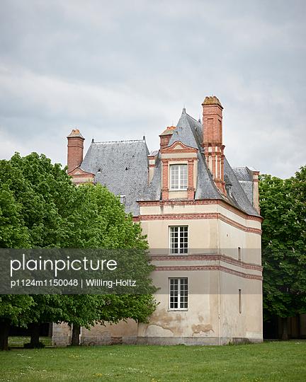 Schloss in Fontainebleau - p1124m1150048 von Willing-Holtz