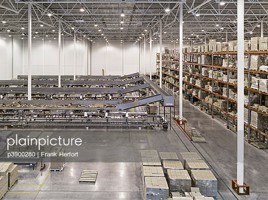 Storehouse in a factory - p3900280 by Frank Herfort