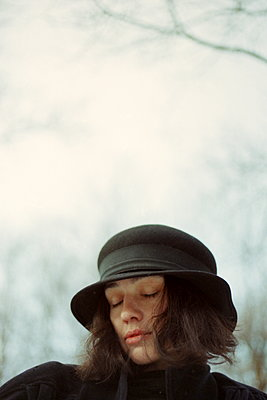 The dreaming woman  - p1063m1200624 by Ekaterina Vasilyeva