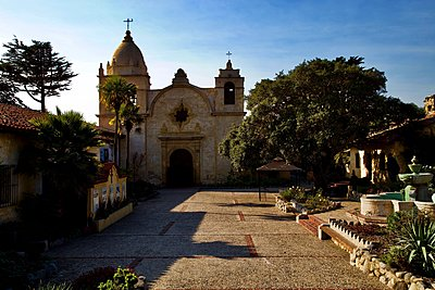 Carmel Mission - p1399m1528877 by Daniel Hischer