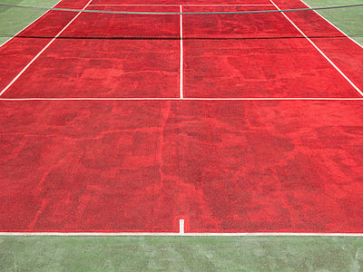 tennis court - p1280m1515081 by Dave Wall