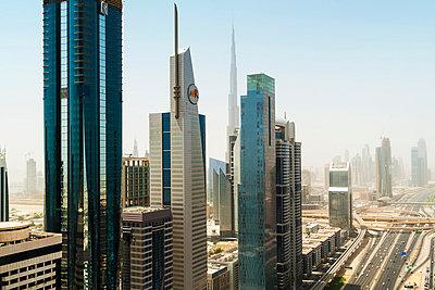 Dubai skyline, UAE - p429m839186 by John Philip Harper