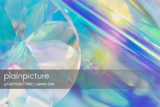Close-up of crystal - p1427m2077492 by Jamie Grill