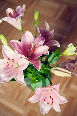 Lilien - p715m755897 von Marina Biederbick