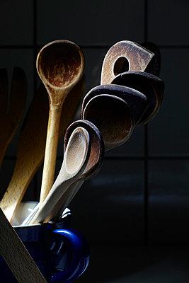 Kitchen utensils - p6760170 by Rupert Warren
