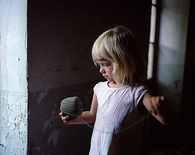 Little girl - p945m965792 by aurelia frey