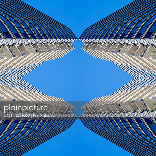 Abstract Architecture Kaleidoscope Boston - p401m2219857 by Frank Baquet