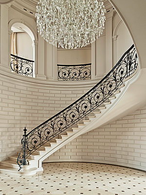 Luxury Living - Entrance Hall I - p390m741264 by Frank Herfort