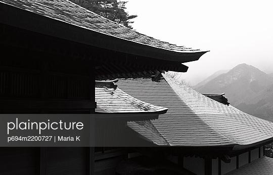 Yamadera Temple, Yamagata, Japan - p694m2200727 by Maria K