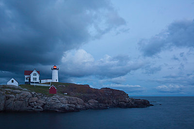 Cape Neddick 'Nubble' Light - p3300437 von Harald Braun