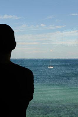 Blick auf den Ozean - p470m934129 von Ingrid Michel