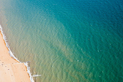 Beach and sea - p9248914f by Image Source