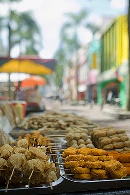 Kuala lumpur chinatown - p9249104f by Image Source