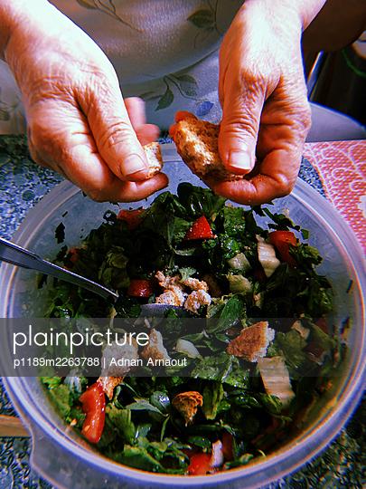 Fattoush salad - p1189m2263788 by Adnan Arnaout