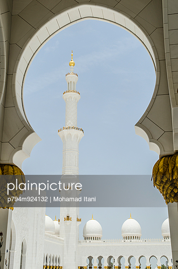 Sheikh Zayed Grand Mosque in Abu Dhabi  - p794m924132 by Mohamad Itani