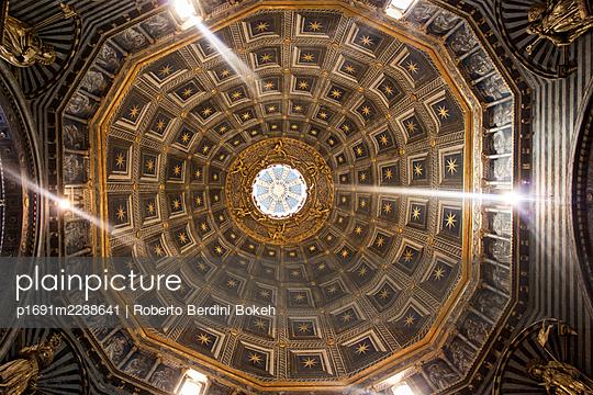 Siena duomo celing - p1691m2288641 by Roberto Berdini Bokeh