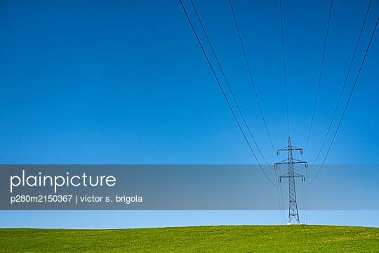 Strommast - p280m2150367 von victor s. brigola