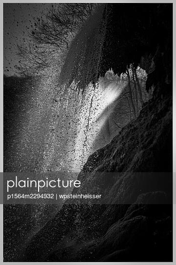 Germany, Baden-Württemberg, Bad Urach, Waterfall - p1564m2294932 by wpsteinheisser