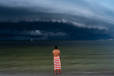 Ominous Storm Clouds - p1262m1590044 by Maryanne Gobble