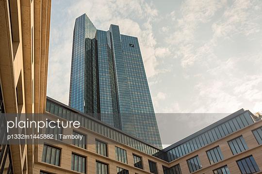 Deutsche Bank in Frankfurt - p1332m1445882 by Tamboly