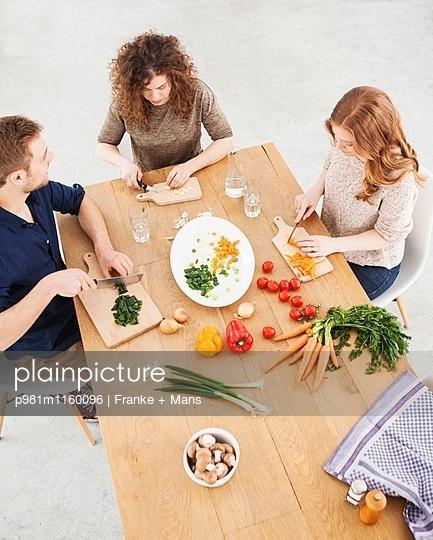 Teamarbeit - p981m1160096 von Franke + Mans