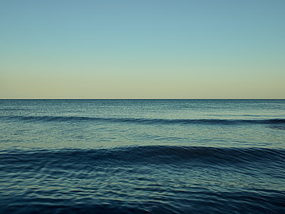 Baltic Sea rippling water surface - p1200m1131677 by Carsten Görling