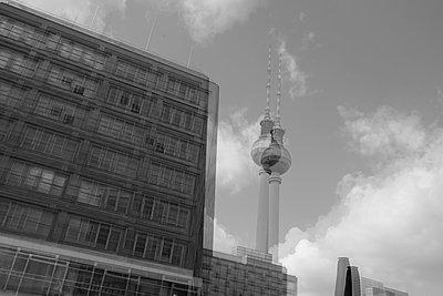 Tower block in Berlin - p1229m2110455 by noa-mar