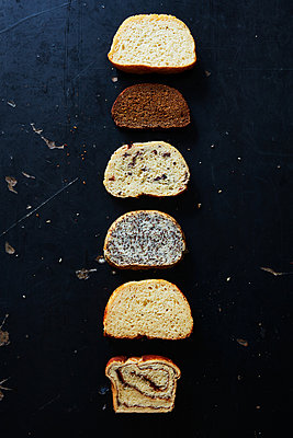 types of bread - p1379m1525888 by James Ransom