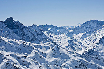 Scenics view of the Alps - p312m670280f by Matilda Lindeblad