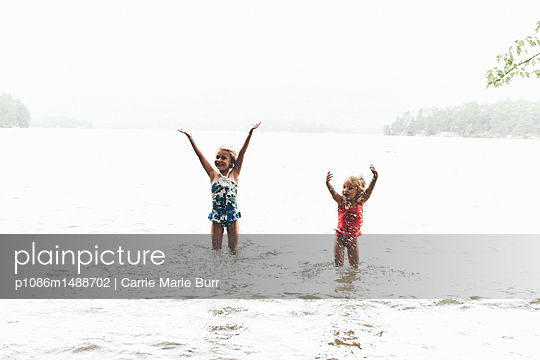 Lake Summer - p1086m1488702 by Carrie Marie Burr